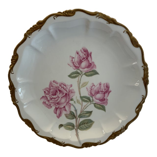 Image of Late 19th Century Antique R. C. Crown Bavaria Plate