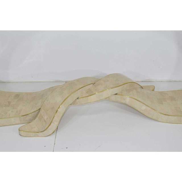 Maitland Smith Tessellated Marble Console For Sale In Dallas - Image 6 of 11