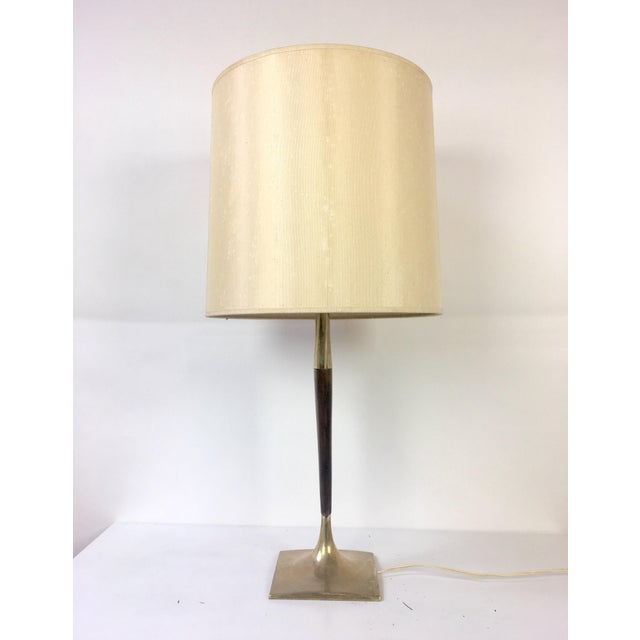 Laurel Lamp Company Gerald Thurston Mid-Century Wishbone Table Lamp for Laurel Lamp Co. For Sale - Image 4 of 9