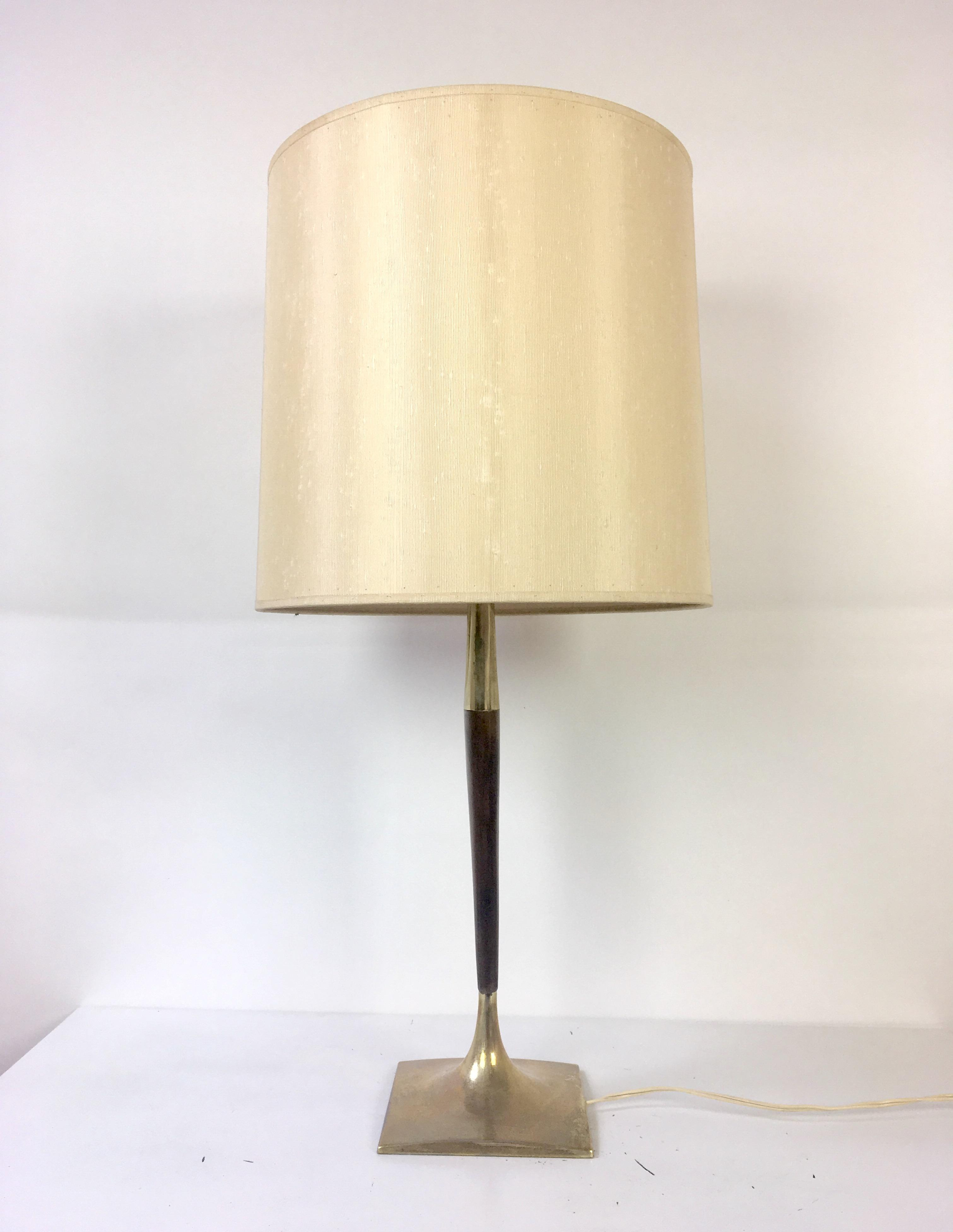 Exceptional Gerald Thurston Mid Century Wishbone Table Lamp For Laurel Lamp Co.   Image  4