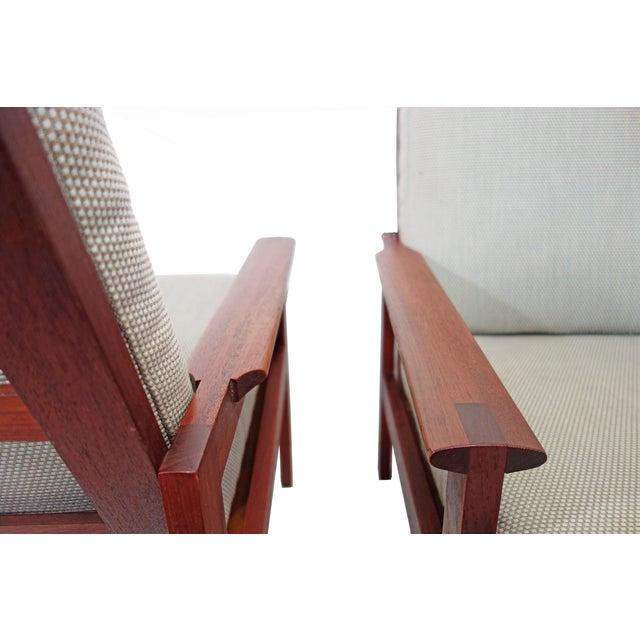 Mid-Century Wikkelso Sofa & Two Lounge Chairs - Image 9 of 9