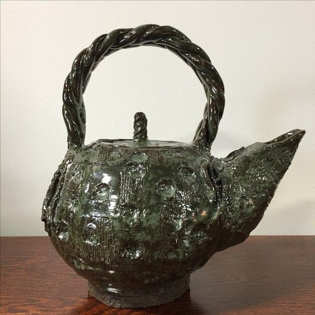 Handmade Clay Teapot - Image 2 of 7