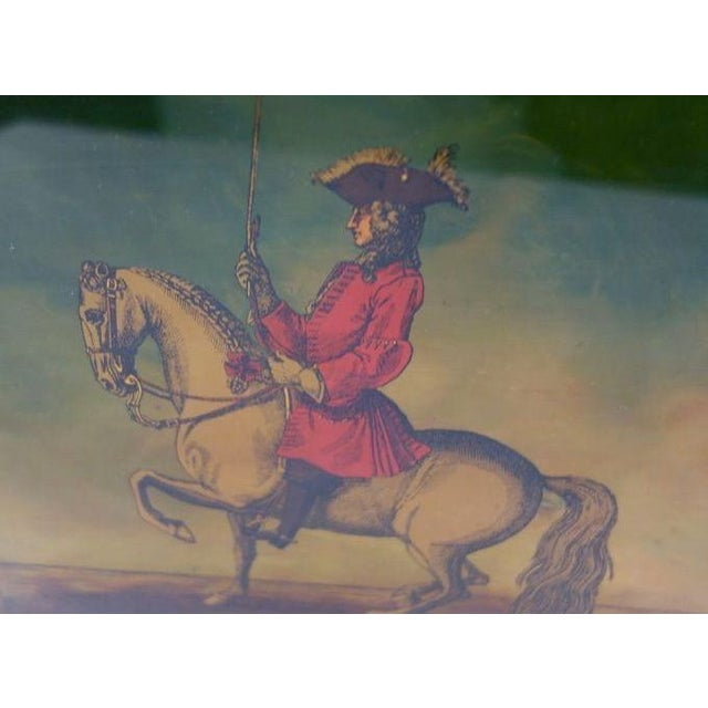 Mid-Century Modern Prussian Soldiers & Their Noble Steeds Print - a Pair For Sale - Image 3 of 6
