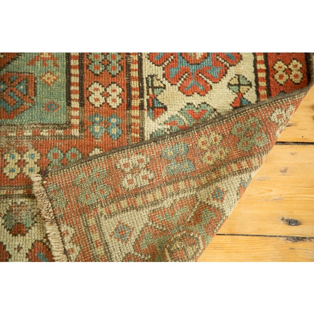 "Antique Kazak Rug - 4'2"" X 6'3"" - Image 9 of 9"