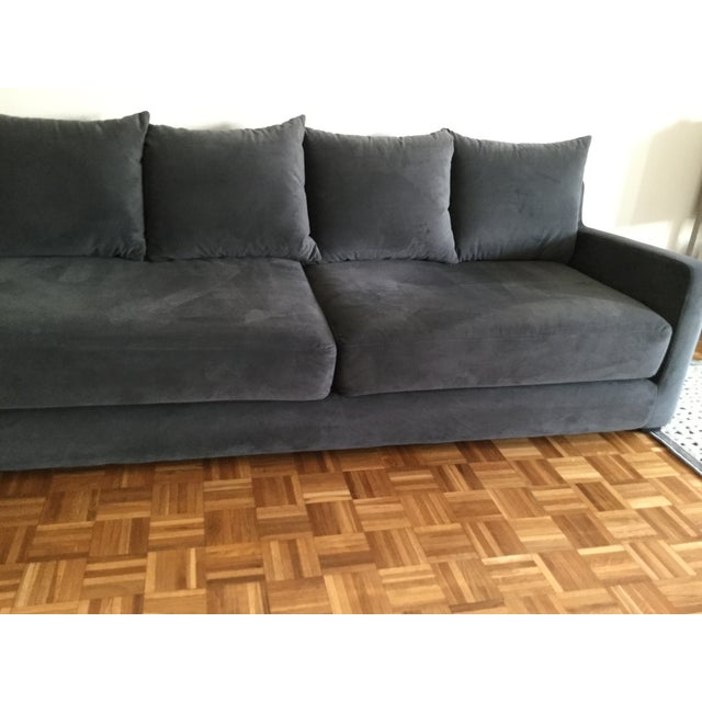 Textile Gus* Modern Flipside Velvet Sofa For Sale - Image 7 of 10