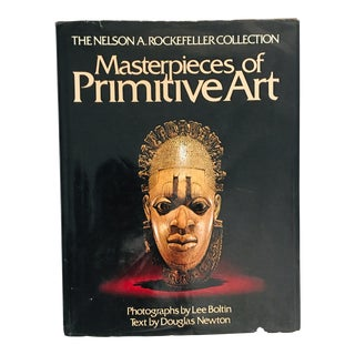 "1978 ""The Nelson A. Rockefeller Collection Masterpieces of Primitive Art"" First Edition Art Book For Sale"