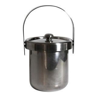 Silver Plate Italian Ice Bucket by Argente 1960s For Sale