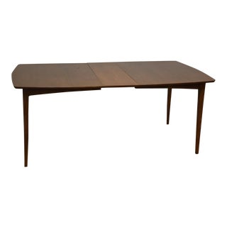 Walnut Dining Table W/ Leaf