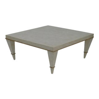Mid Century Tessellated Stone Coffee Table For Sale