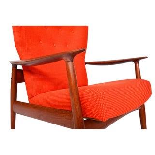 K. Rasmussen Teak Highback Reclining Lounge Chair Preview