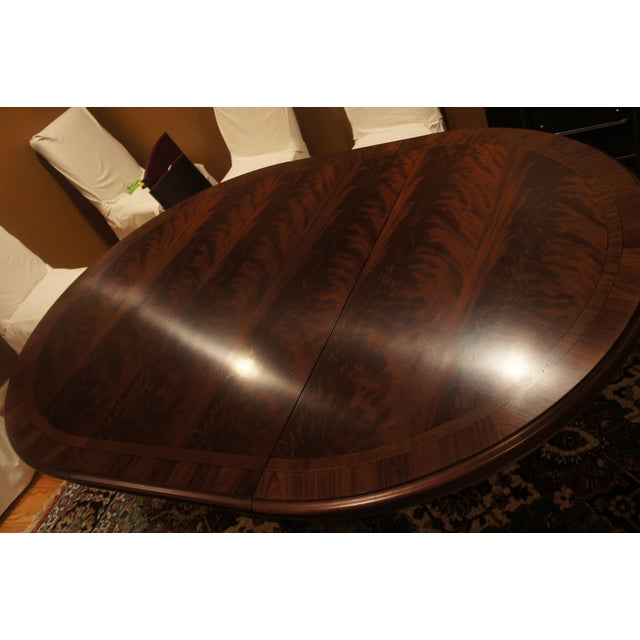 Hickory Chair Mahogany Dining Table - Image 2 of 6