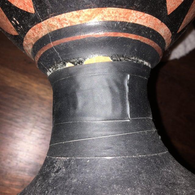 Greek Double Handle Vase - Image 10 of 10