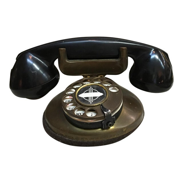 Vintage 1930's Deco Telephone - Image 1 of 6