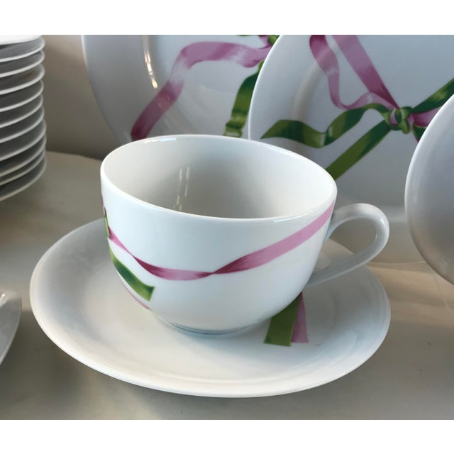1980s Vintage Jacques Coeur Dinnerware-Set of 49 For Sale - Image 5 of 13