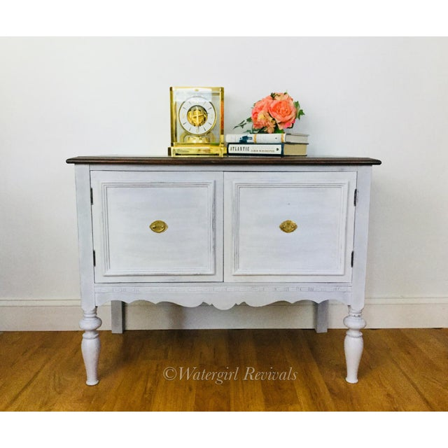 1930s 1930s Rustic Farmhouse Server Buffet For Sale - Image 5 of 8