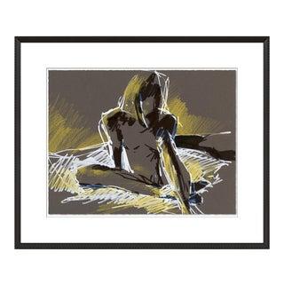 Figure 4 by David Orrin Smith in Black Frame, XS Art Print For Sale