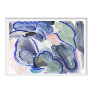 Contemporary Abstract Landscape Print For Sale