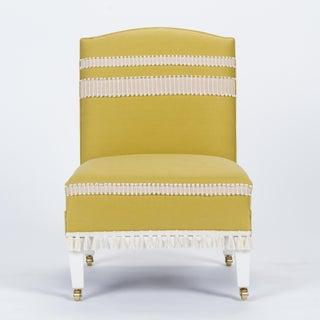 Casa Cosima Sintra Chair in Citron Linen, a Pair Preview