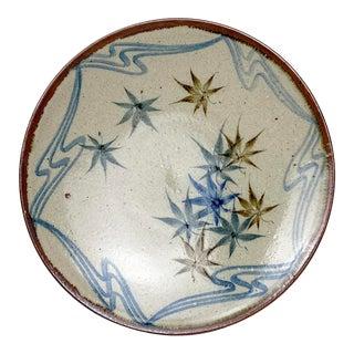 1990s Japanese Mashiko Kilns Plate For Sale