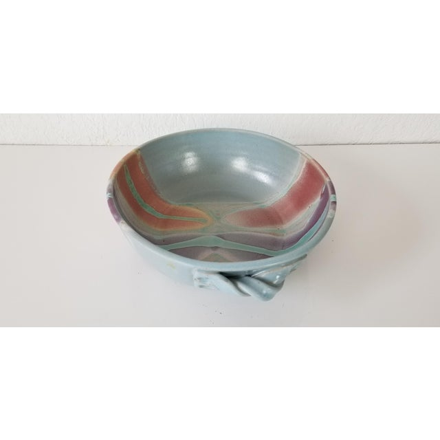 Frank Digangi Art Pottery Bowl . For Sale - Image 9 of 10
