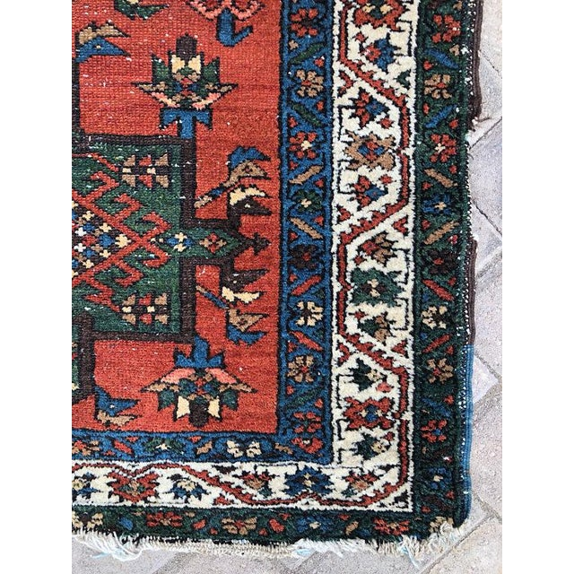 "Textile Vintage Karajeh Wool Runner Rug - 2'10""x11'2"" For Sale - Image 7 of 10"