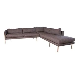 Milo Baughman Thayer Coggin Sectional Sofa For Sale