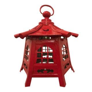 Chinese Red Pagoda Lantern