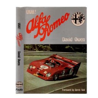 """1976 """"Viva! Alfa Romeo"""" Collectible Book For Sale"""