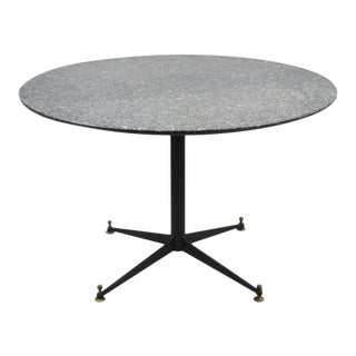 Italian Granite Top Center Table For Sale