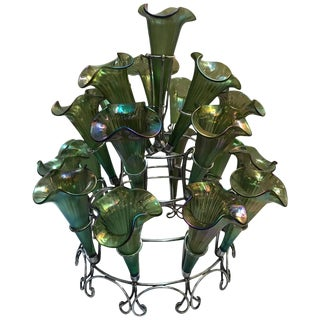 Late 19th Century Antique Silver Plate Epergne For Sale