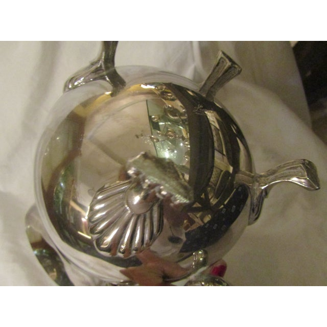 Leonard Leonard Silverplate Water Pitcher For Sale - Image 4 of 5
