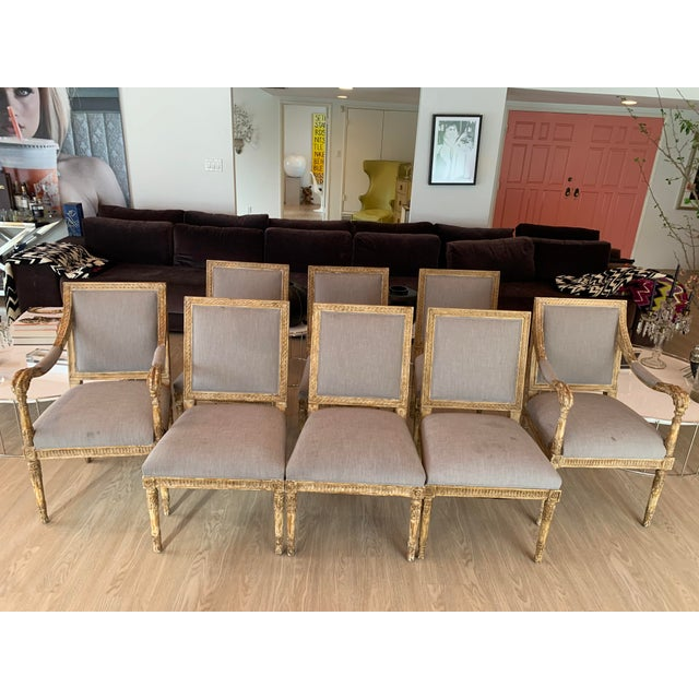 Nancy Corzine Chairs - Set of 8 For Sale - Image 13 of 13