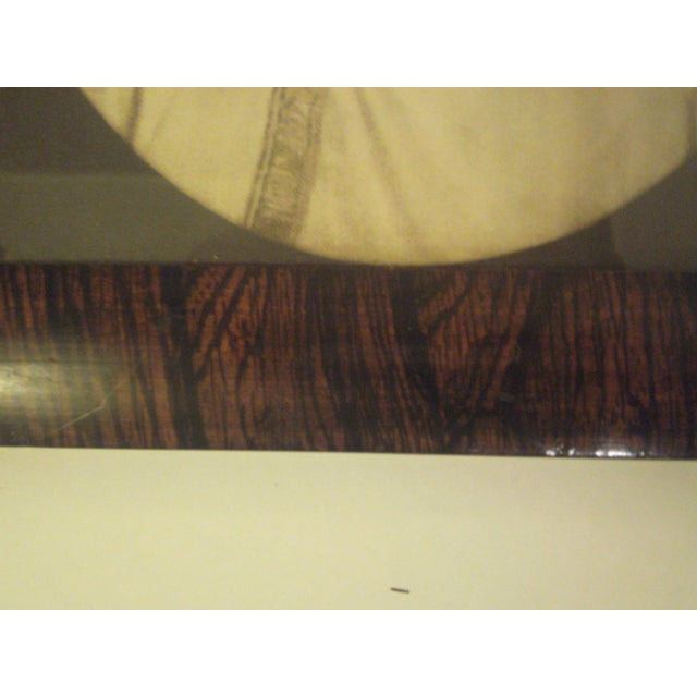 1910 Antique Rosewood Frame with Print - Image 5 of 8