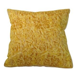 Vintage Fortuny Cimarosa Pillow For Sale