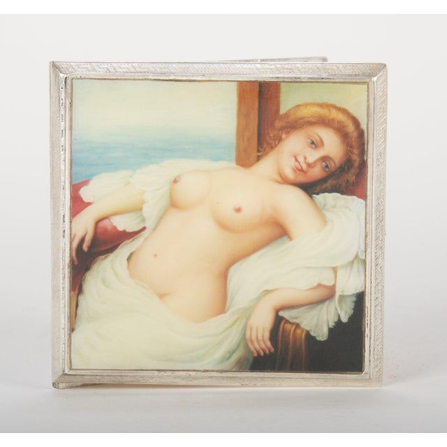 Silver Cigarette Box For Sale In New York - Image 6 of 13