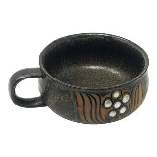 Mid-Century Japanese Pottery Mug For Sale