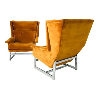 Pair MCM Adrian Pearsall by Comfort Design Chairs For Sale