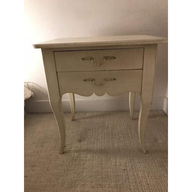 Ethan Allen Maison Collection Ivory Nightstand