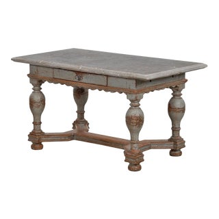 Mid 18th Century Baroque Stone Top Table For Sale