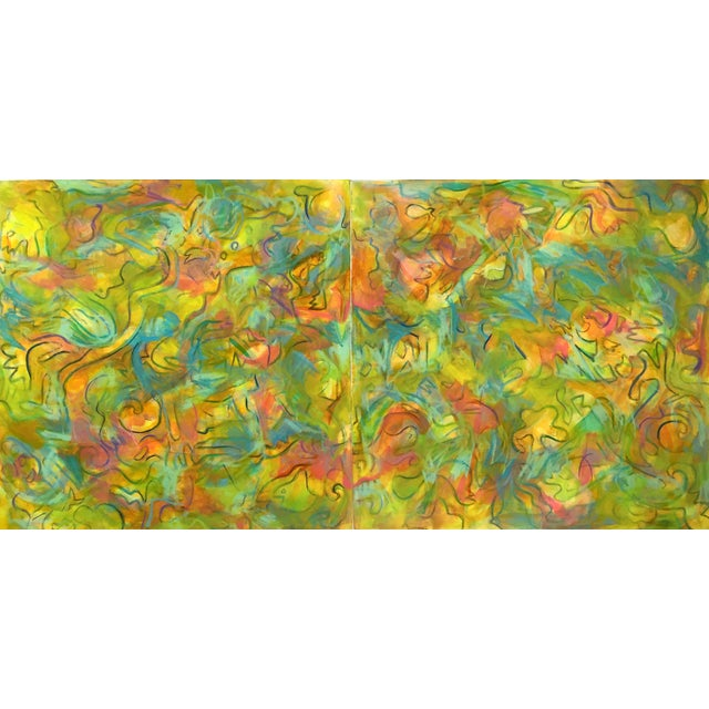 """""""Windy City"""" Abstract Painting by Trixie Pitts - Image 1 of 4"""
