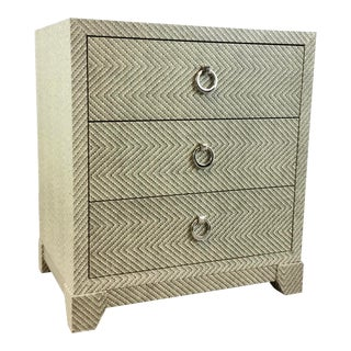 Bungalow 5 Modern Tweed Brittany Chest of Drawers For Sale