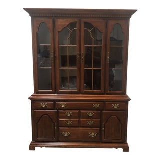 American Drew Cherry Grove China Hutch For Sale