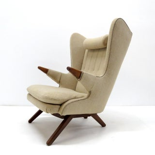 1950s Vintage Svend Skipper 'Model 91' Wingback Lounge Chair Preview