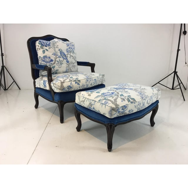 Traditional Pearson Co. 1416 Chair and Ottoman Set For Sale - Image 13 of 13