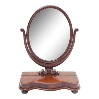 Mahogany Vanity Dresser Mirror For Sale