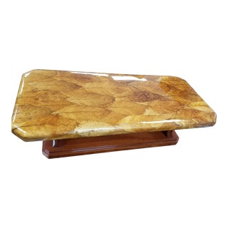 Traditional Tobacco Leaf Table For Sale