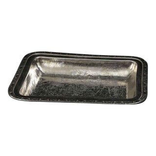Salvaged Waldorf Silver Serving Dish or Tong Rest For Sale