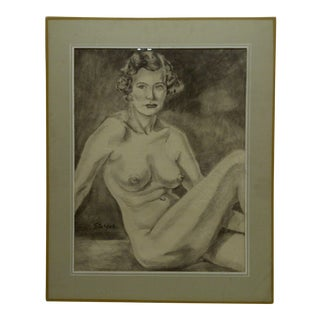 "Tom Sturges Jr. ""Dolcie"" Original Matted Drawing"