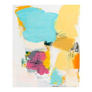 Carolanna Parlato Moments Like This Colorful Abstract Painting 2015 For Sale
