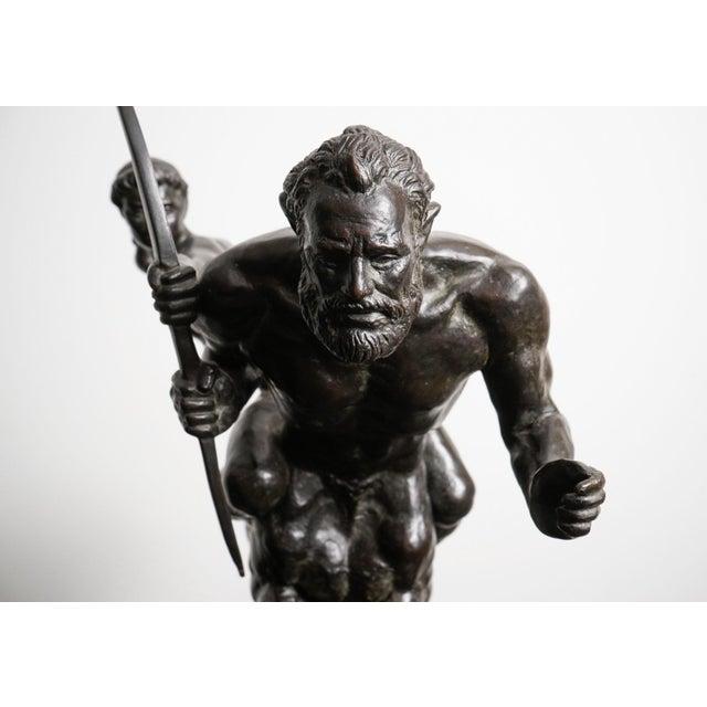 Pierre Traverse (France, 1892 -1979) Title: Archer and Centaur circa 1969 Bronze sculpture Dimensions: 45 x 41 x 17 cm;...
